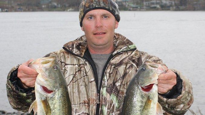 Badin Lake bass