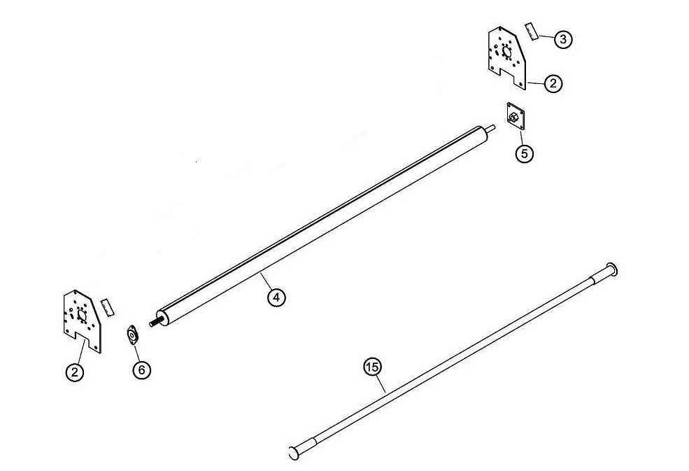 US Tarp 13429 Pull Style Tarping System with Rear Pull Bar