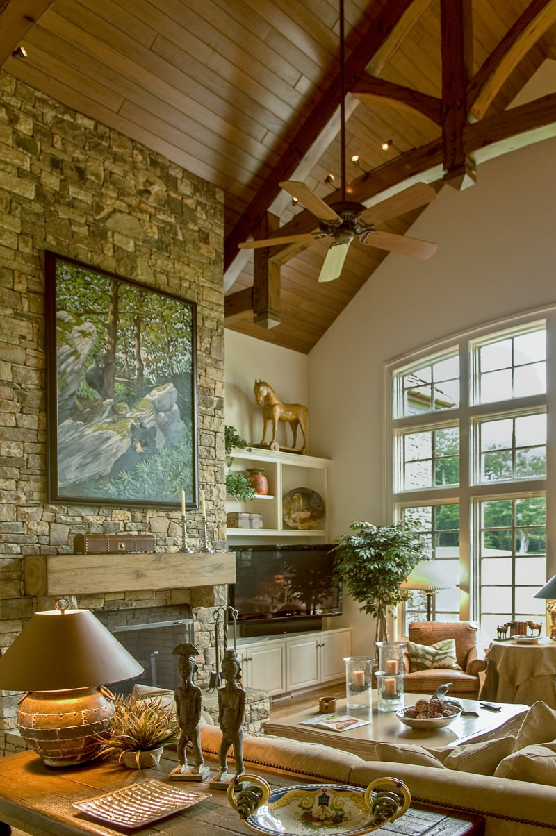 living room wall paints furniture walmart timber frame great rooms, lodge and rooms
