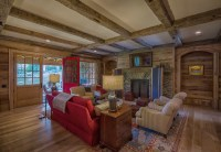 Timber Frame Great Rooms, Lodge Rooms, and Living Rooms