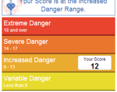 Discerning your Danger Level – An App
