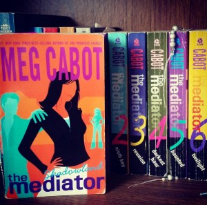 """""""The Mediator"""" series by Meg Cabot."""
