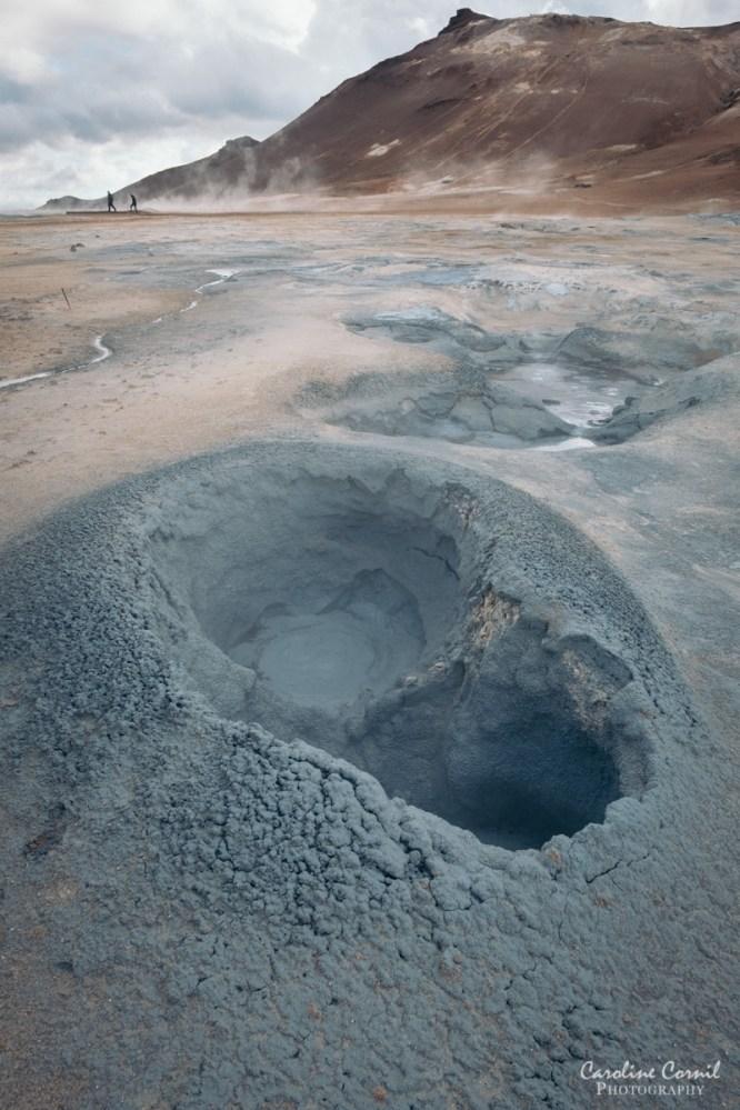 Mud Pot in Hverir, Iceland