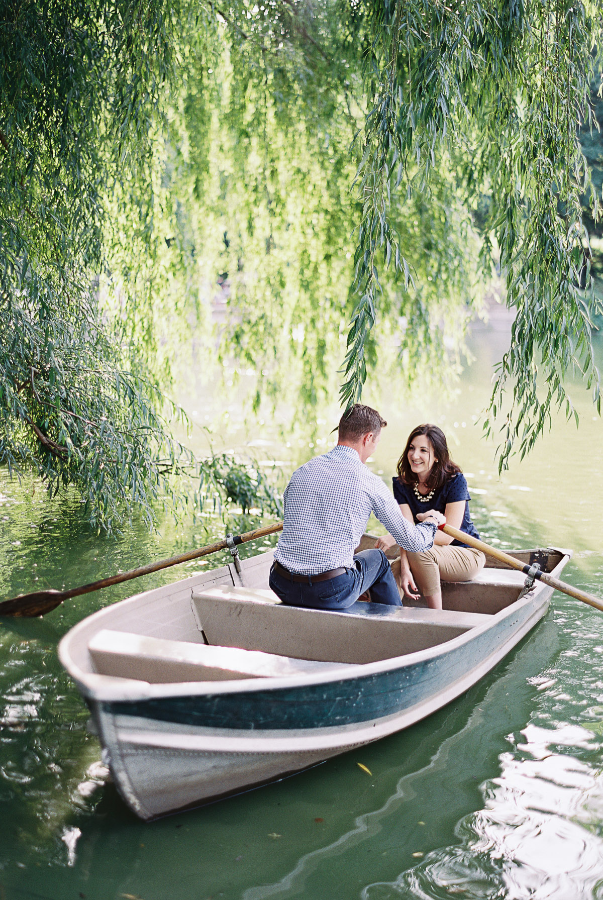 Central Park Row Boats New York Wedding Photographer