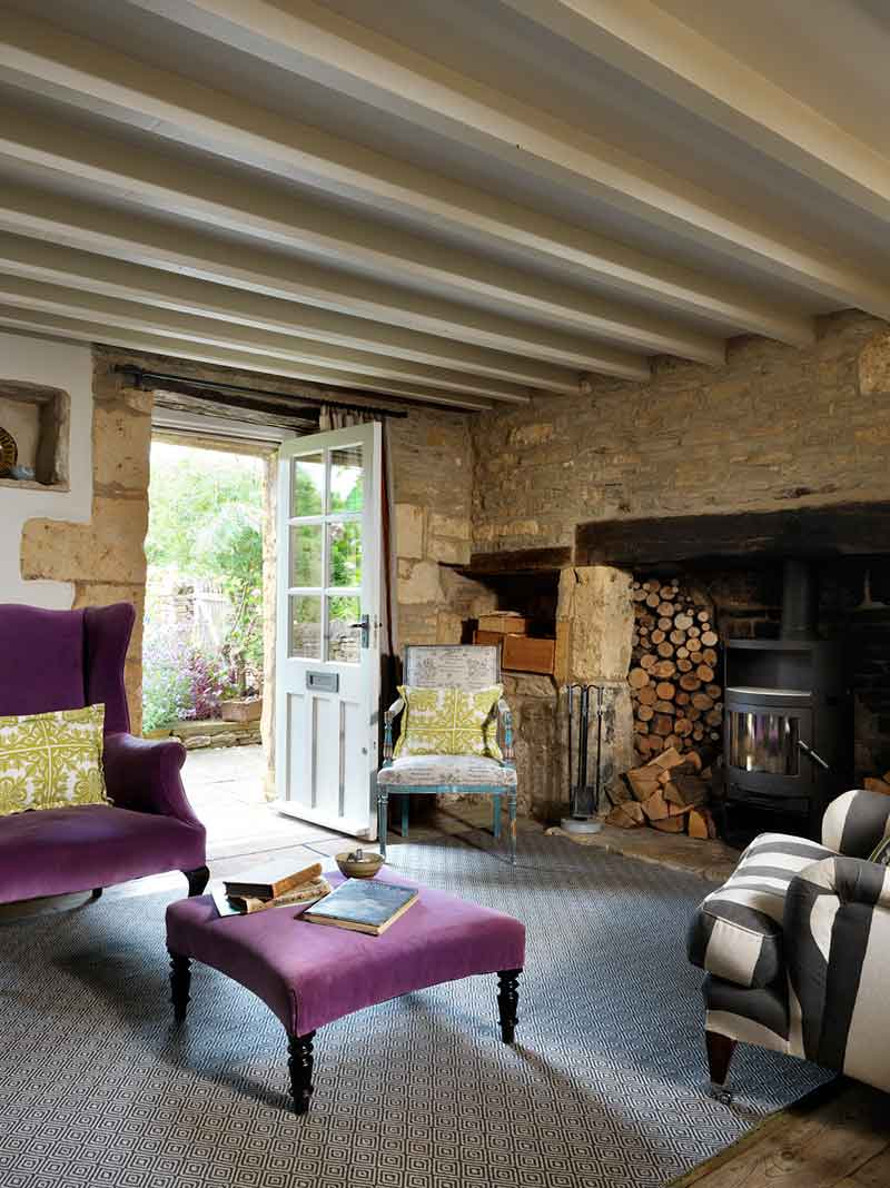 Mullions  Cotswolds cottage project  Caroline Holdaway