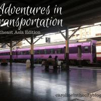 Adventures in Transportation