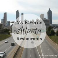 Fave Atlanta Restaurants
