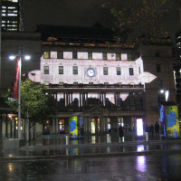 Vivid Sydney at Customs House
