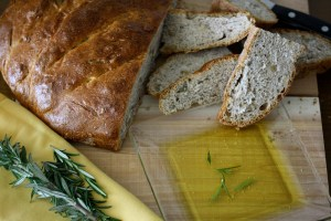 Walnut Rosemary Bread