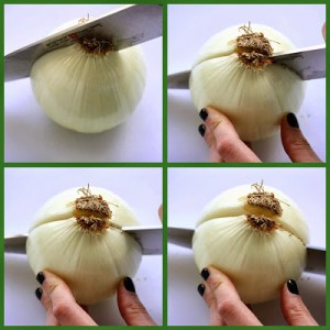 """""""No Tears"""" Chopped Onions"""