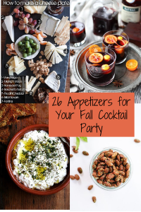26 Recipes for a Fabulous Fall Cocktail Party