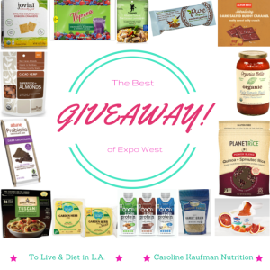 The Best of Expo West Giveaway!