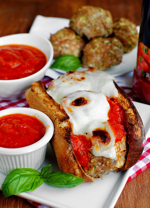 This is one of my FAVORITE dinners. It's fun to eat and the meatballs taste amazing (even after they're frozen)