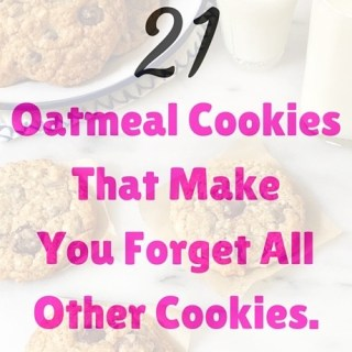 21 Oatmeal Cookies That'll Make You Forget All Other Cookies