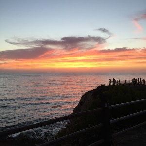 Point Vicente Sunset