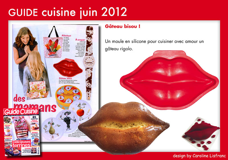 Guide cuisine juin 2012 design by caroline lisfranc for Guide conception cuisine