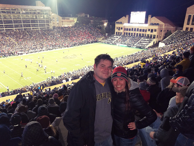 Folsom Field, University of Colorado (2016)
