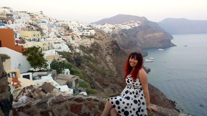 My 30th birthday, Santorini, Greece