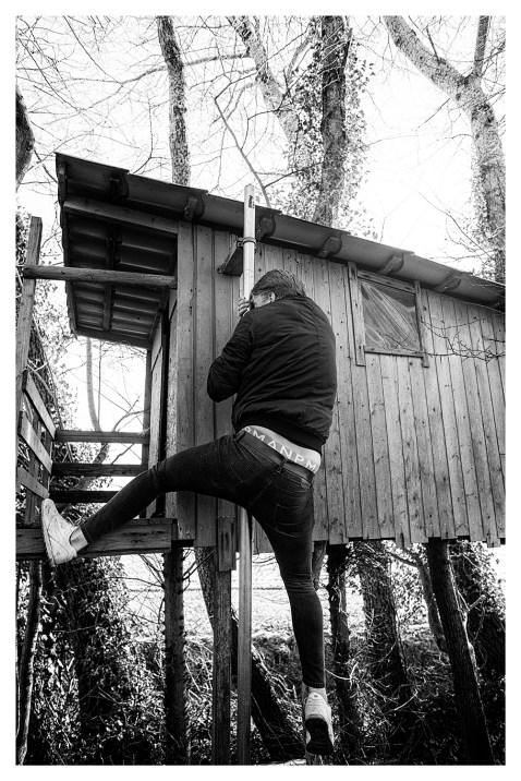 'Vroeger was hier een trap.'