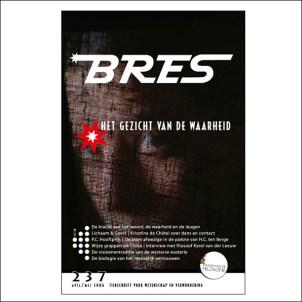 vormgeving van tweemaandelijks tijdschrift Bres nummers 231 - 238