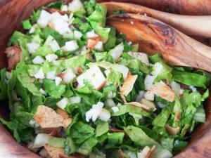 winter fattoush salad