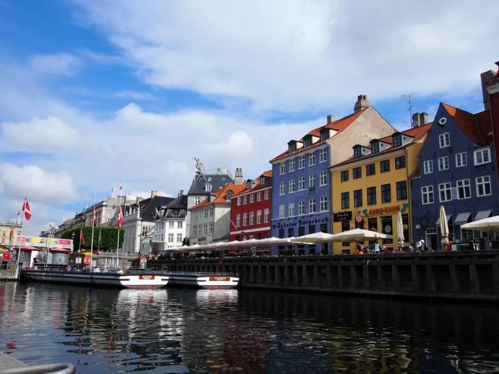 Nyhaven, Copenhagen - in Danish smørrebrød (open sandwiches) with remoulade