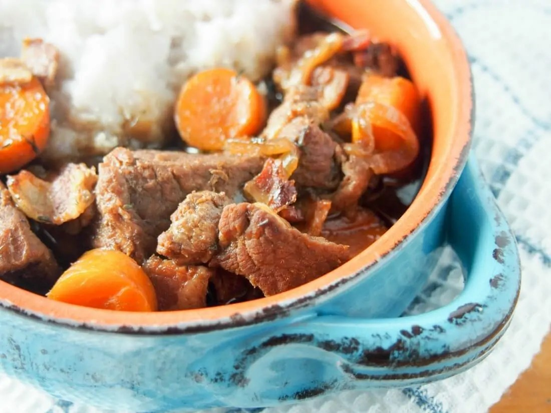 It's maybe not entirely traditional, but this beef and stout stew ...