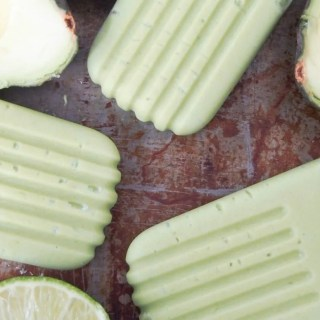 Avocado paletas (Mexican avocado ice pops)