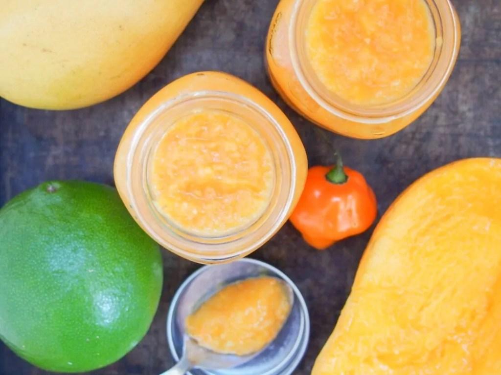 Mango habanero sauce #SundaySupper