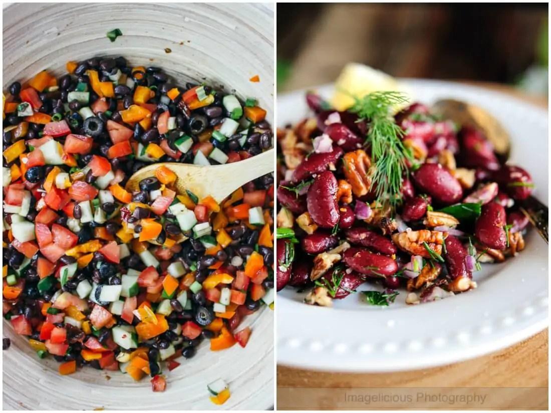 bean salads - make ahead salads