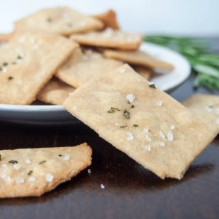 whole wheat olive oil crackers