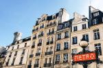 Être de retour en France