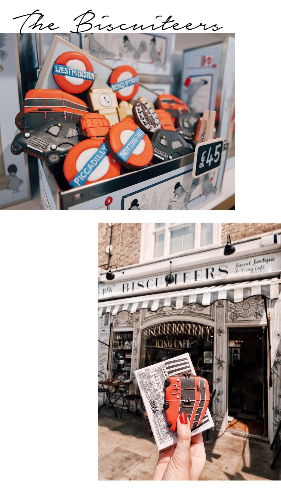bonnes adresses londres the biscuiteers