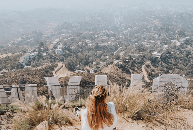 randonnee hollywood sign cover