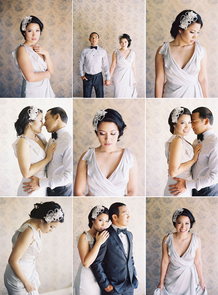 hollywood glam wedding photography  Caroline Tran  Los