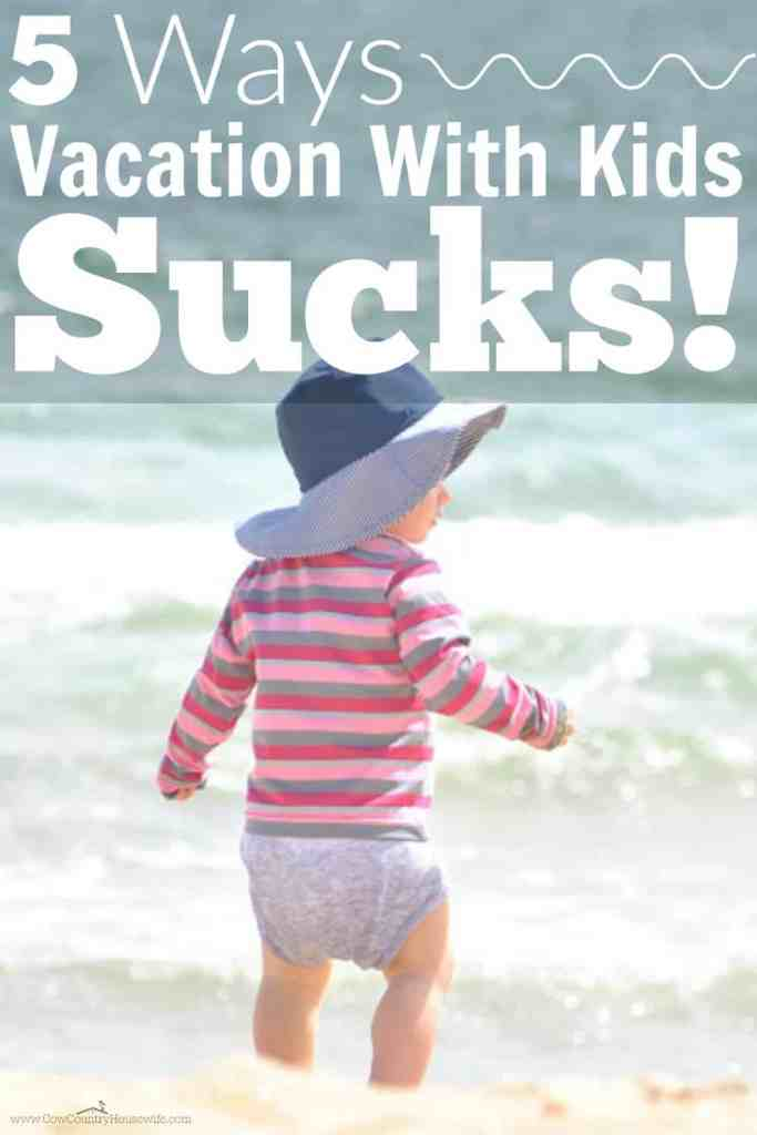 This is hilarious! Kids are great, but vacation with kids is a LOT different than it was before kids came along!