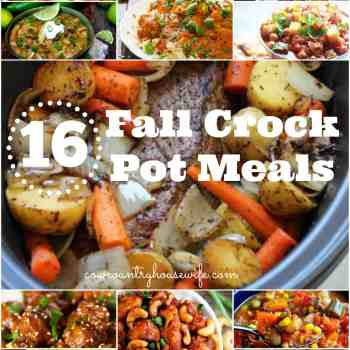 16 Fall Slow Cooker Dinners