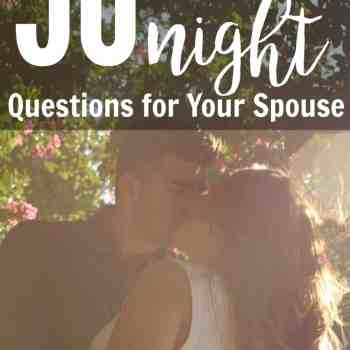 50 Date Night Questions for Your Spouse