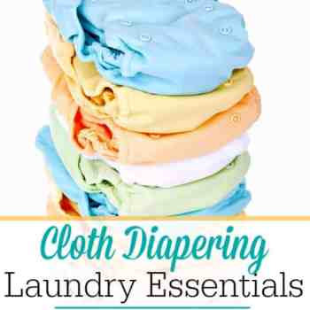 I Haven't Spent a DIME on Laundry For Cloth Diapering
