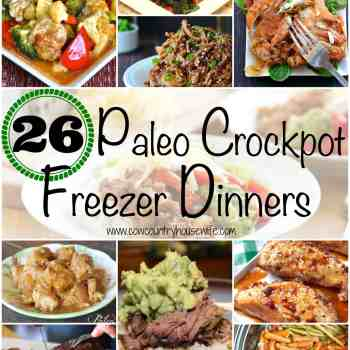 26 Paleo Crockpot Freezer Dinners - Cow Country Housewife