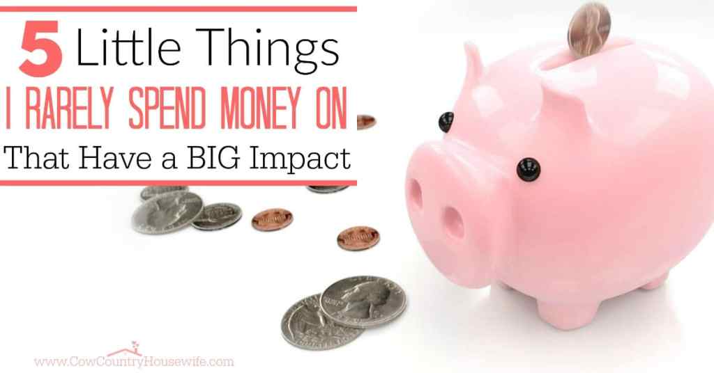 Even with a super tight budget, there is always room to cut back even more. Little things really add up and can wind up making a big impact on your budget at the end of the month!
