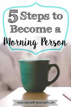 how to become a morning person wikihow