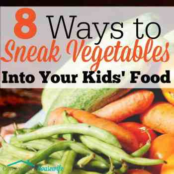 Even the pickiest eaters need to eat their vegetables. Even the pickiest eater in the world can't find the vegetables in this mom's sneaky methods! #4 is ALWAYS a hit for my 3 picky eaters!