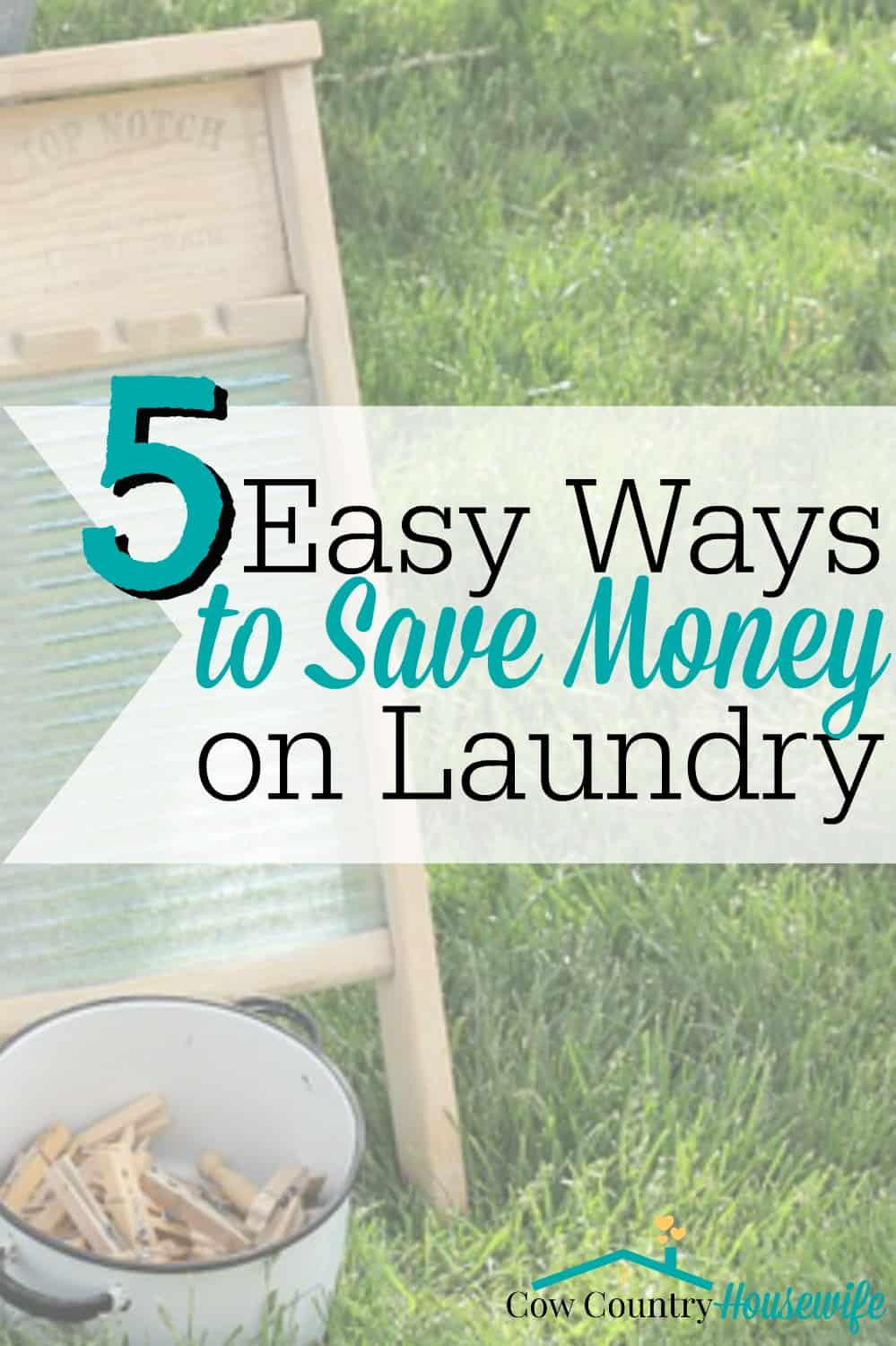 Looking to save money on your laundry? Trying to get rid of chemicals in your house? Seriously, these are the easiest ways ever to cut back or almost completely get rid of your laundry spending. This is all coming from the woman who hasn't spent any money on laundry in a year for a family of five!