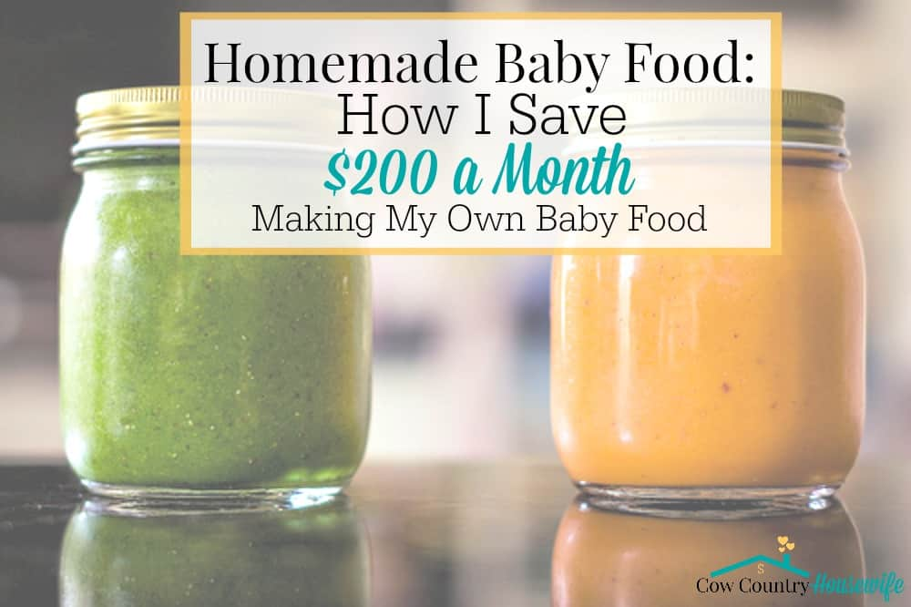 Save money AND know exactly what's in my baby's food? That sounds amazing, right?! It's easier than you think AND it'll save you tons of money!