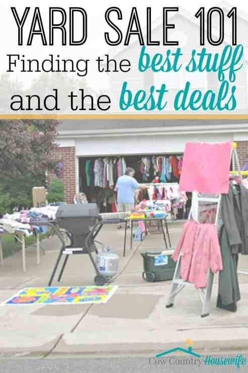 Yard sales are basically my favorite. They combine my 2 favorite activities: shopping and saving money! From the best places to look, to what wallet to bring, to when to show up, here are my favorite tips that will help you get the best stuff for the best deals! The weird things I've done to get the best deals at the best yard sales (before you read: I swear I'm not a stalker!).