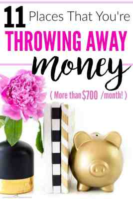 These are amazing! I never even thought about how much money I was throwing away on everyday items! I never even thought of it that way! Expenses to cut. Easy ways to save money. How to start saving money. Cut expenses easily.