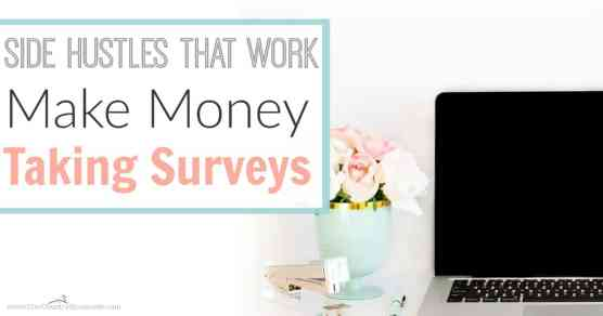 She makes more than $1,200 a year in less than 10 hours of work for the whole year! These are the best legit survey sites to help you make money taking surveys as a side hustle!