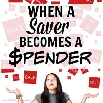 When a Saver Becomes a Spender