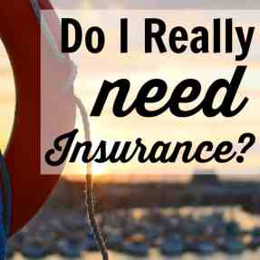 Do I really need insurance? No matter how much or how little money you have, the answer is always the same. Don't think that it'll save you money by not spending. It could cost you without it.